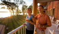 Sunset Toast at The Lodge on Lake Detroit
