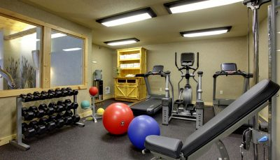 The Lodge on Lake Detroit - Fitness Center