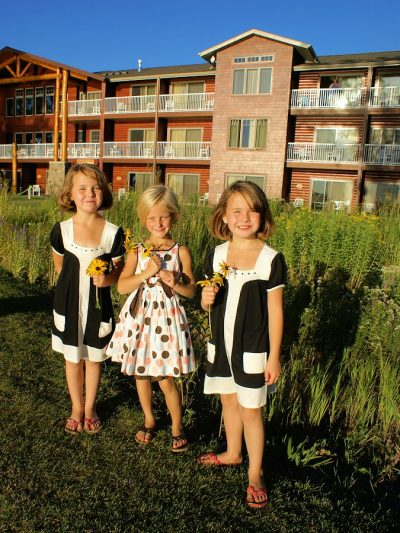 Rain Garden - Minnesota Eco Hotel - The Lodge on Lake Detroit