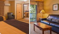 Two Room Family Suite - The Lodge on Lake Detroit